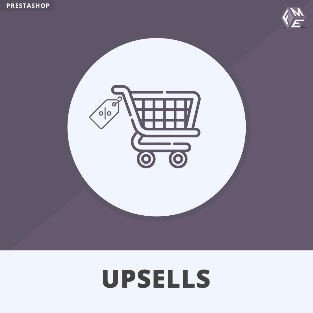 module - Cross-selling & Product Bundle - Prodotti Upsell - Push on Cart - 1