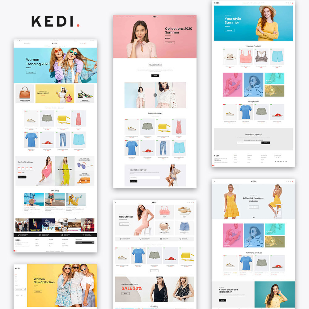 theme - Мода и обувь - KeDi Fashion Stores - 3
