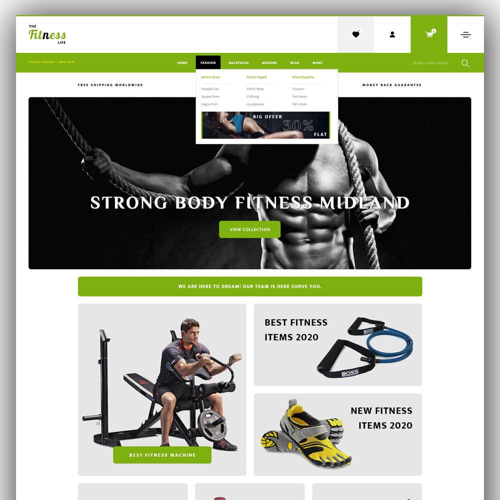 theme - Sport, Loisirs & Voyage - Fitnesslife - Gym Store - 2