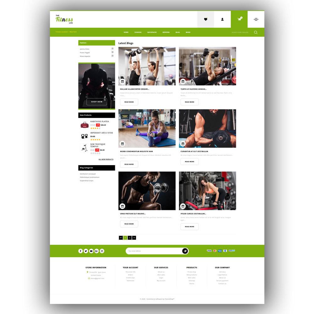 theme - Sport, Loisirs & Voyage - Fitnesslife - Gym Store - 7