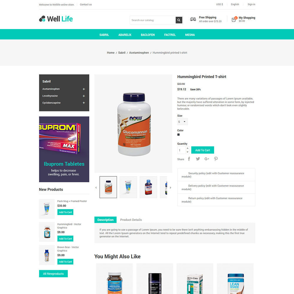 theme - Salud y Belleza - Well Life - Medicine Medical Drug Pharmacy Store - 6