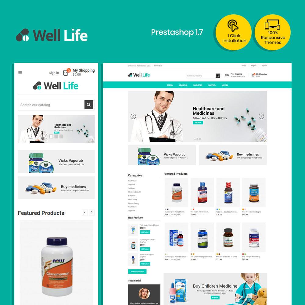 theme - Gesundheit & Schönheit - Well Life - Medizin Medizinische Drogerie - 2