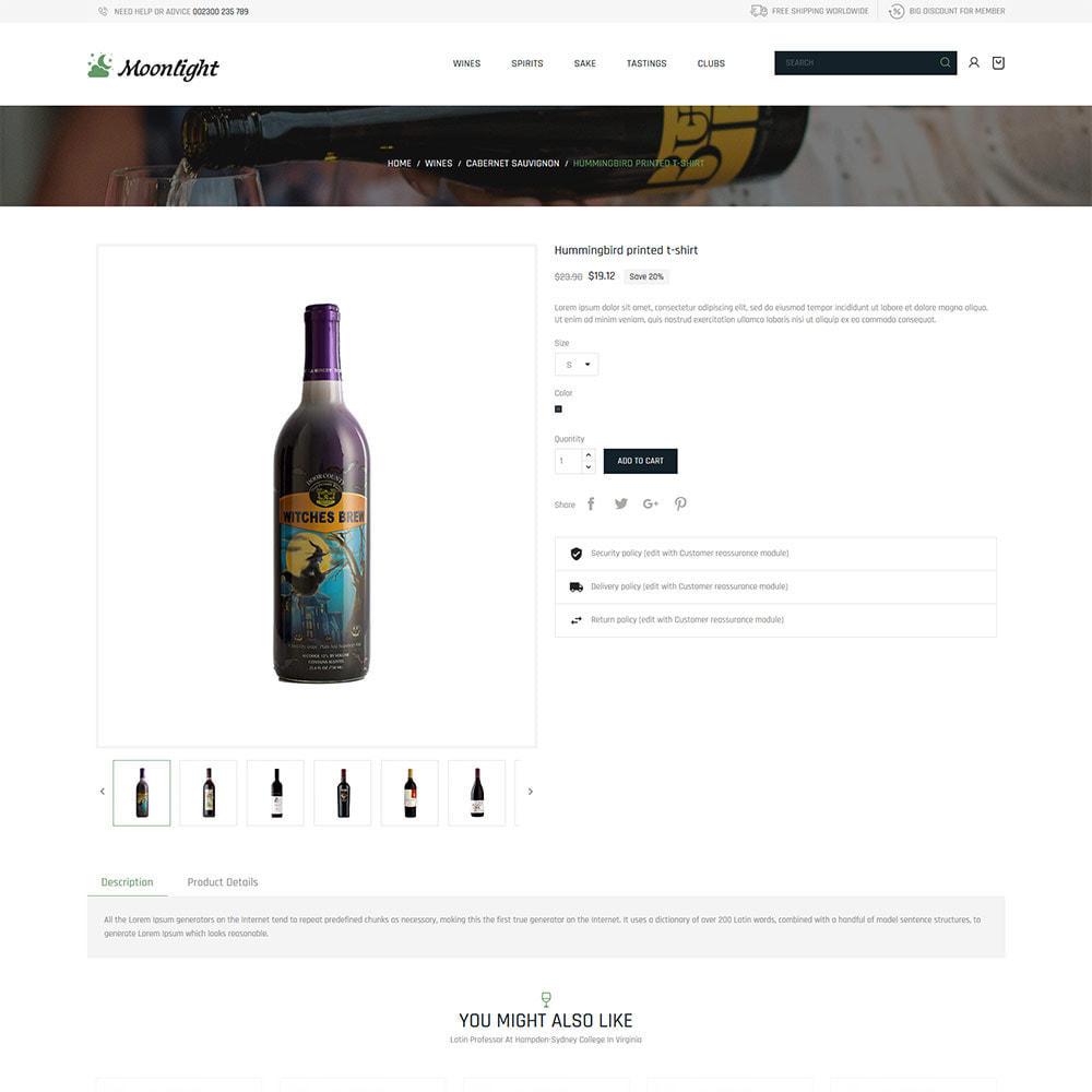 theme - Drink & Wine - Beer Bar Drink - Negozio di vini rossi - 6