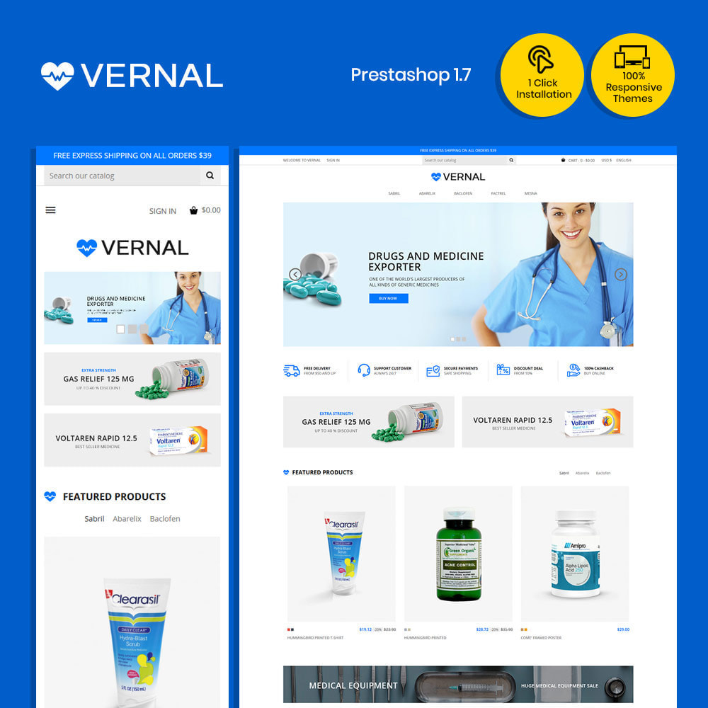 theme - Zdrowie & Uroda - Bio Medical - Zdrowie, leki, apteka - 2