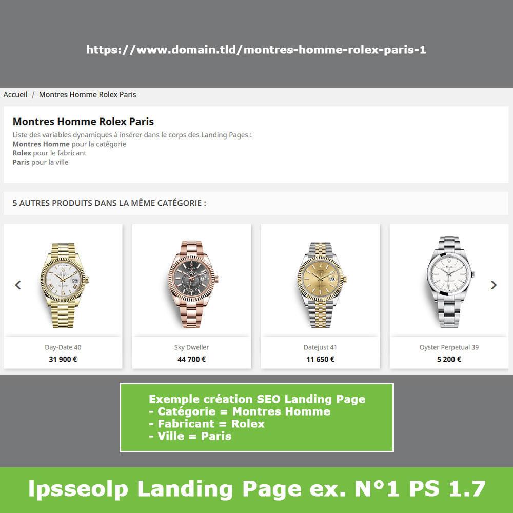 module - SEO (référencement naturel) - SEO Dynamic Landing Pages - 12