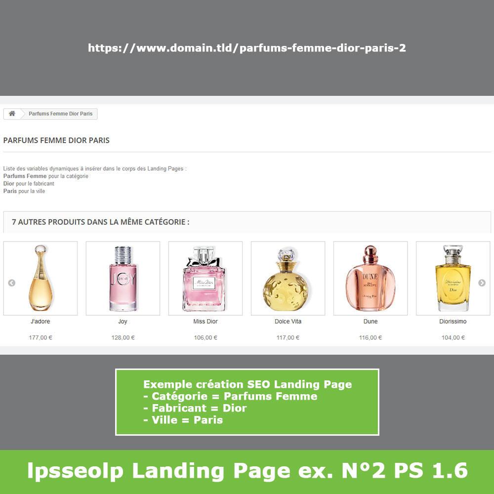module - SEO (référencement naturel) - SEO Dynamic Landing Pages - 13