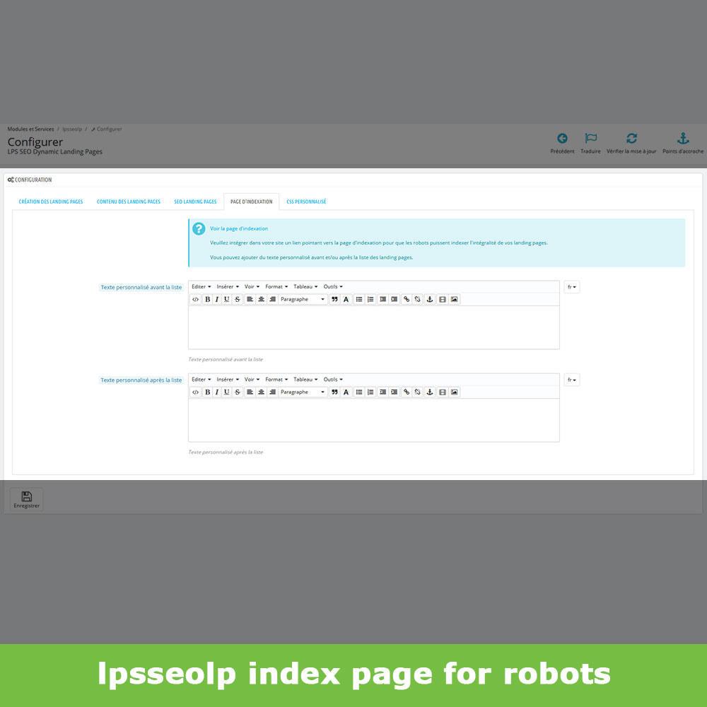 module - SEO - SEO Dynamic Landing Pages - 9