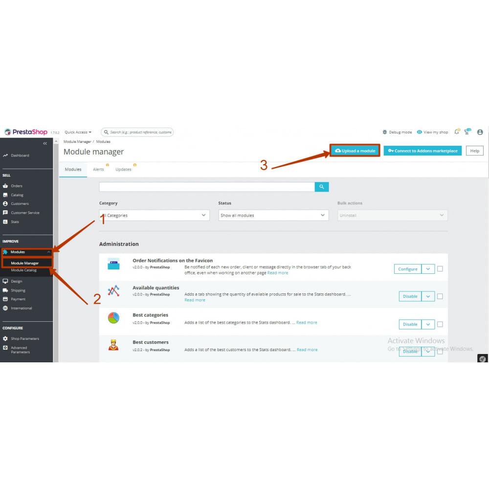module - Ondersteuning & Online chat - Messengers buttons: FB Instagram Skype WhatsApp Viber. - 16