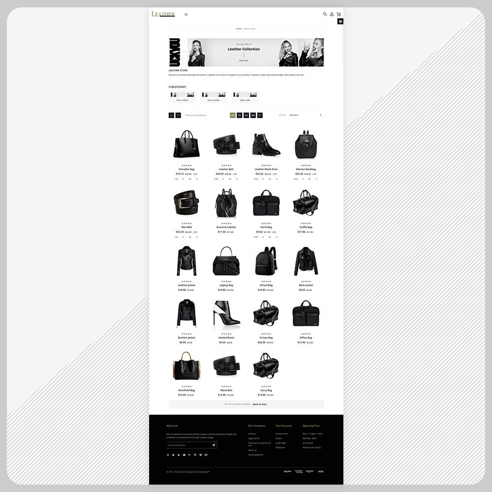 theme - Fashion & Shoes - Sac -  Leather Bag Super Store - 3