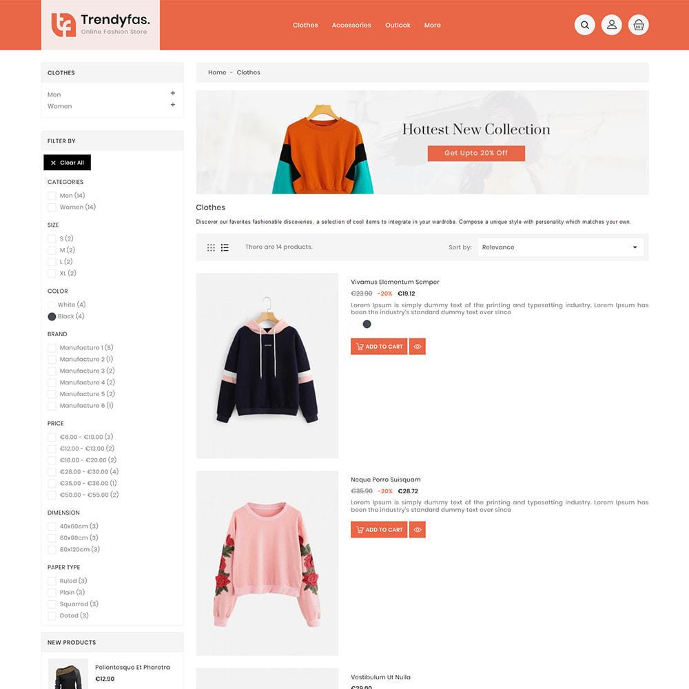theme - Мода и обувь - Trendy Fashion Store - 3