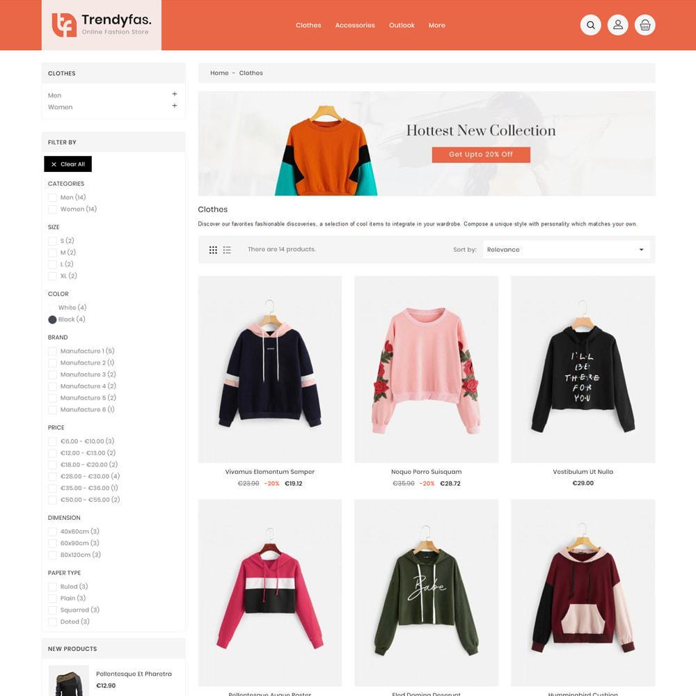 theme - Mode & Schuhe - Trendy Fashion Store - 4