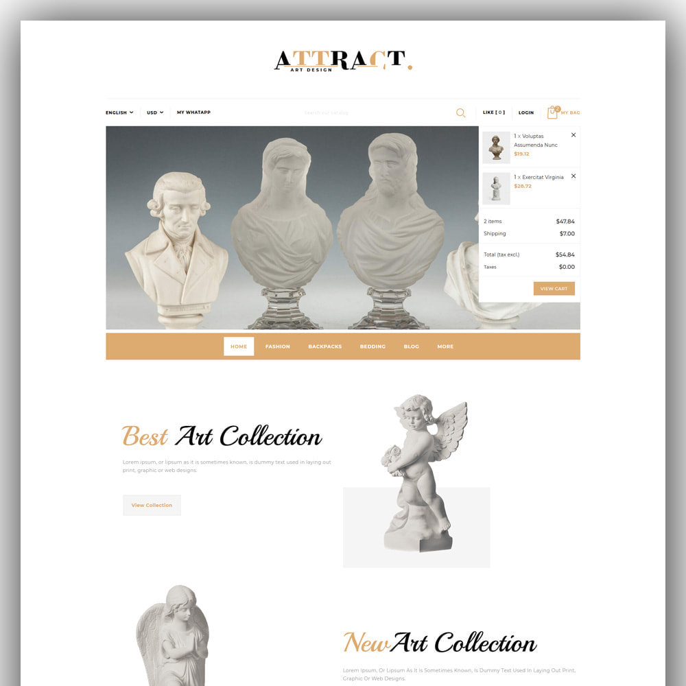 theme - Kunst & Kultur - Attract - Art Store - 3