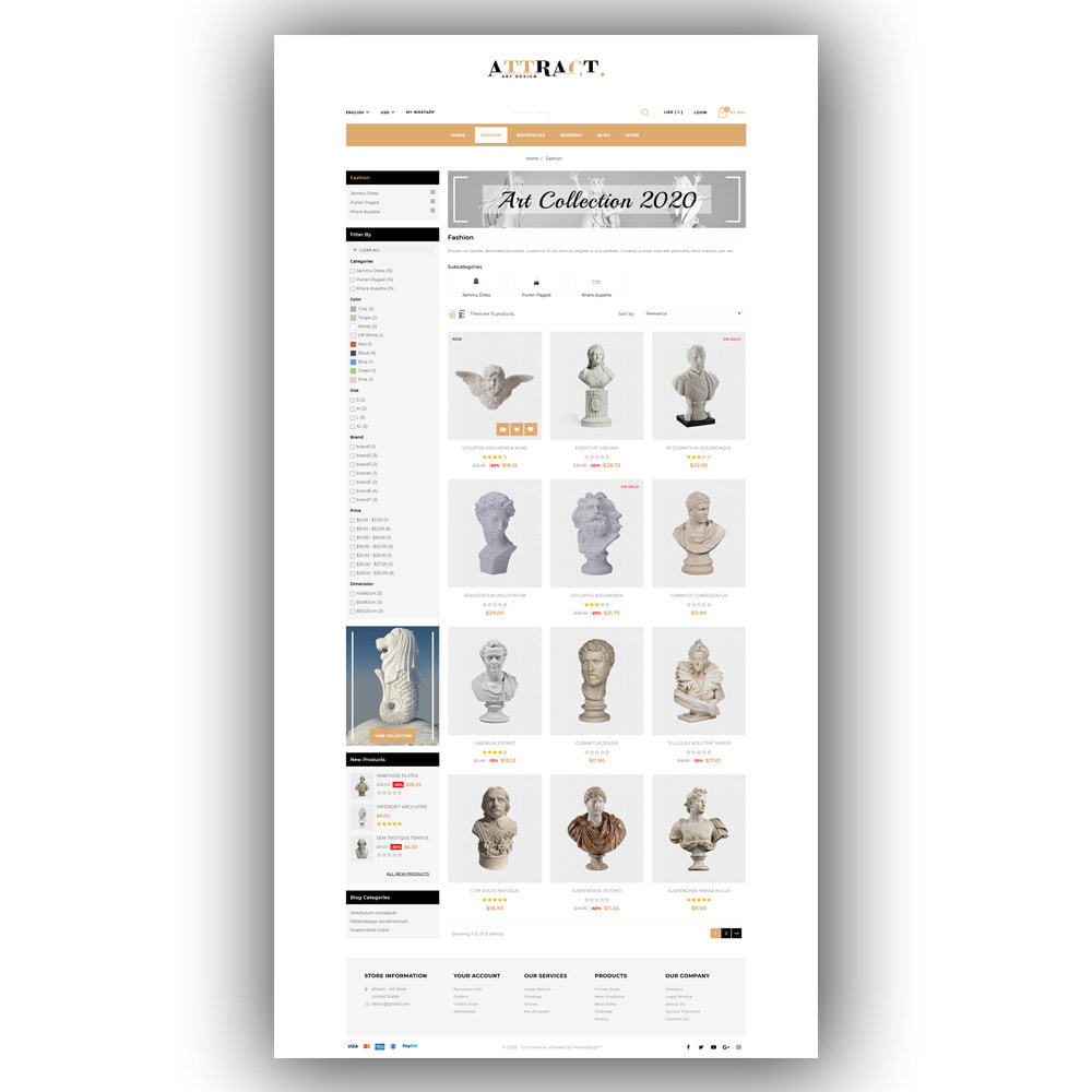 theme - Kunst & Kultur - Attract - Art Store - 4