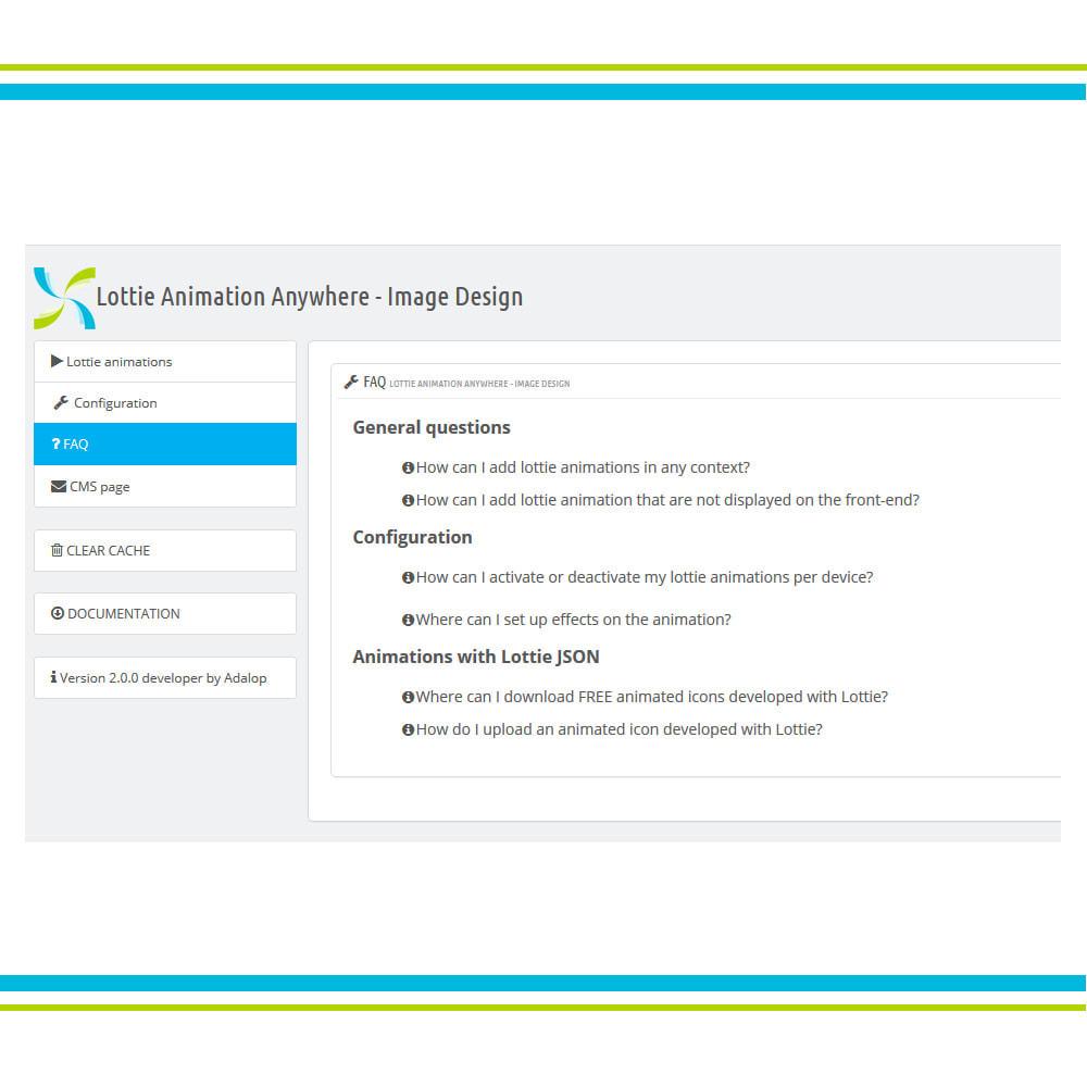 module - Page Customization - Add Lottie Animation Anywhere - Image Design - 6