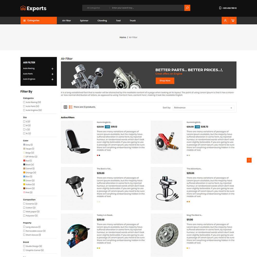theme - Carros & Motos - Expert Tool  - Car Parts Auto Store - 4