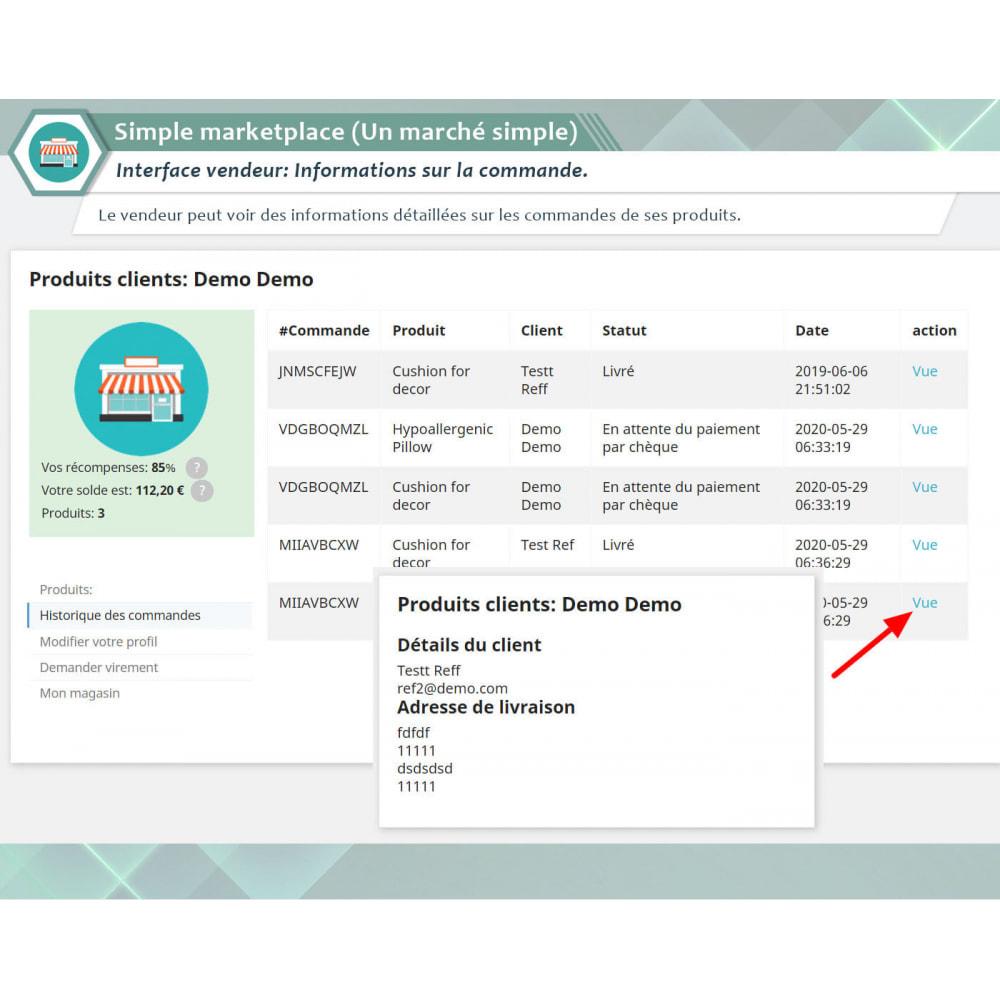 module - Création de Marketplace - Simple Marketplace (Un marché simple) - 5
