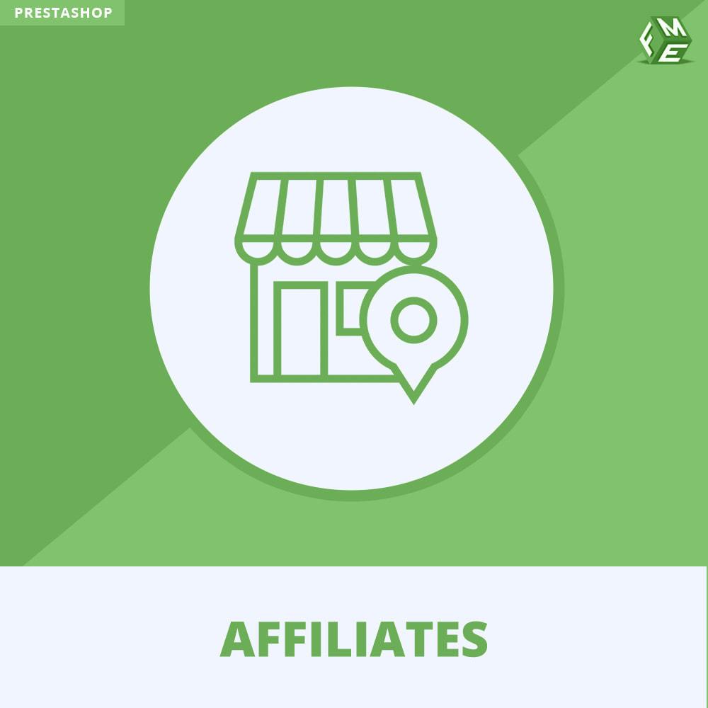 module - SEA SEM (Bezahlte Werbung) & Affiliate Plattformen - Affiliates Pro, Partner- und Empfehlungsprogramm - 1