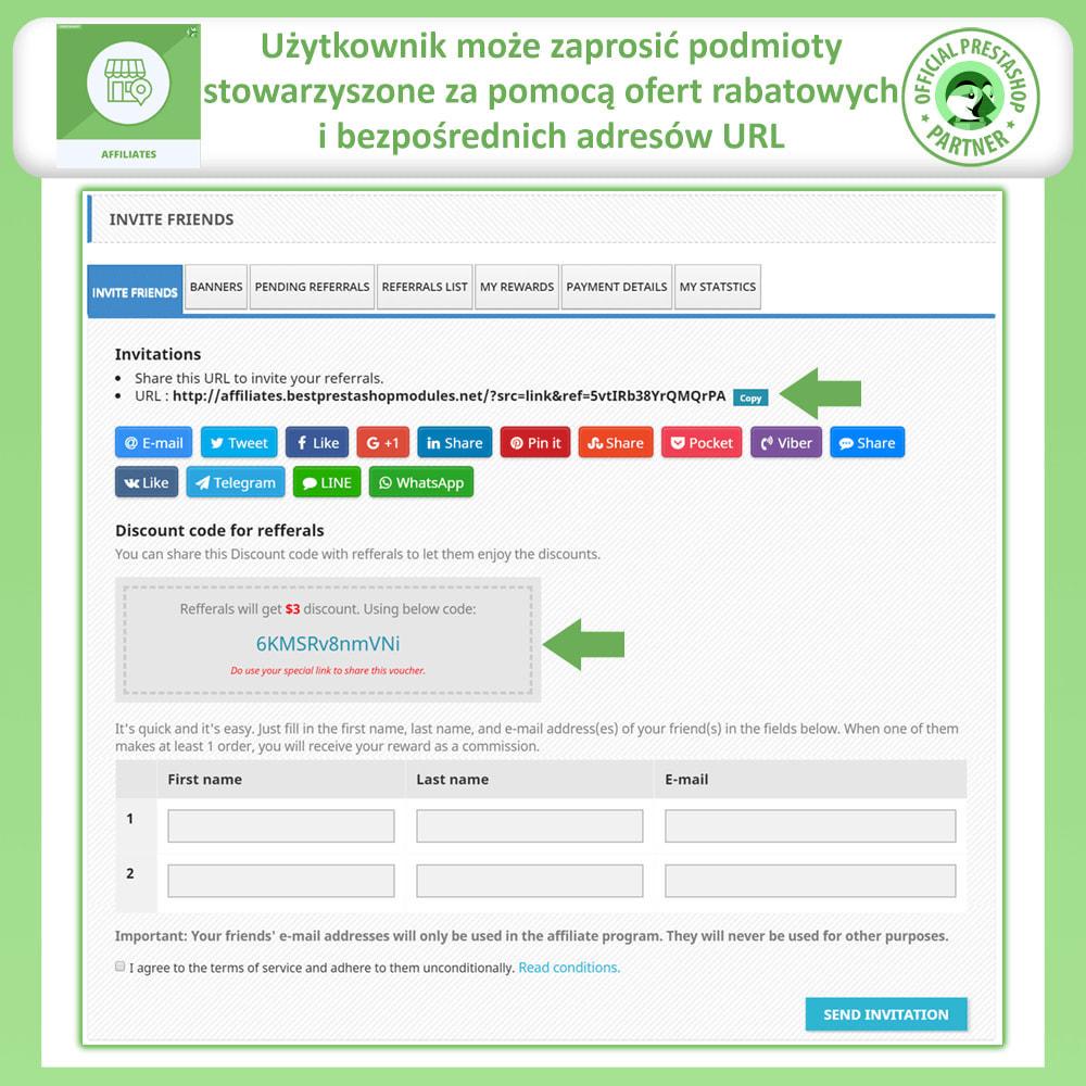 module - Płatne pozycjonowanie & Afiliacja - Affiliate i program poleceń - 2