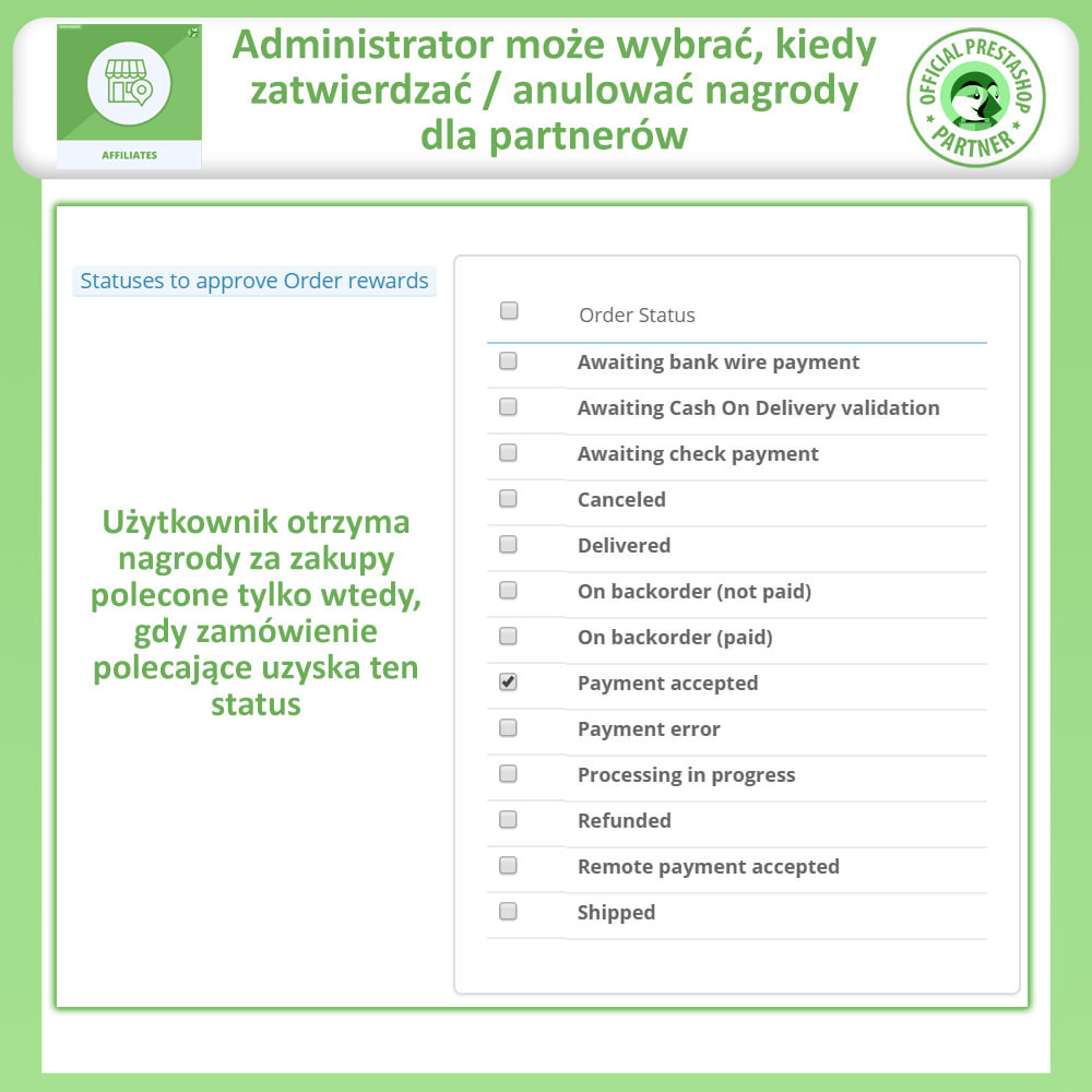 module - Płatne pozycjonowanie & Afiliacja - Affiliate i program poleceń - 15