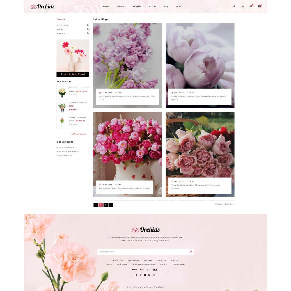 theme - Prezenty, Kwiaty & Uroczystości - Orchid - Flower Market - 9