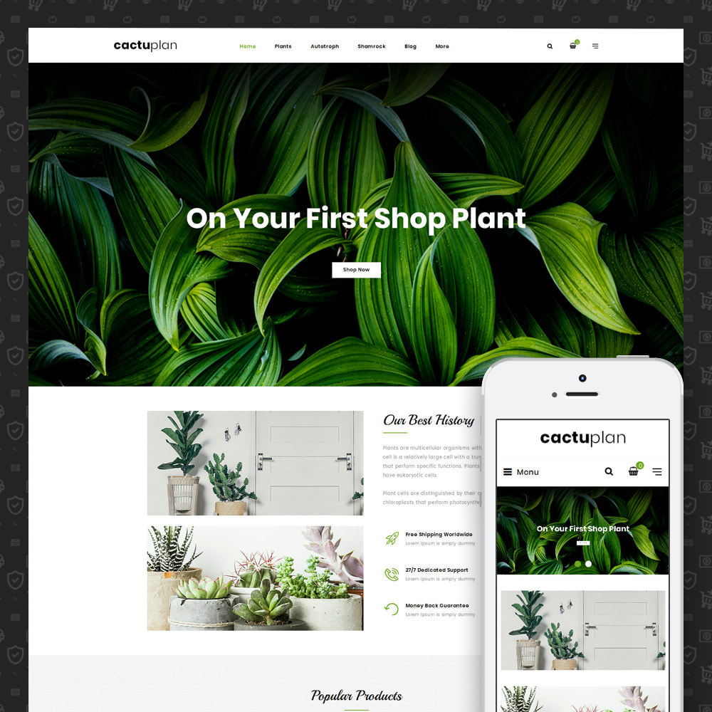 theme - Home & Garden - Cactuplan - Multipurpose Store - 2