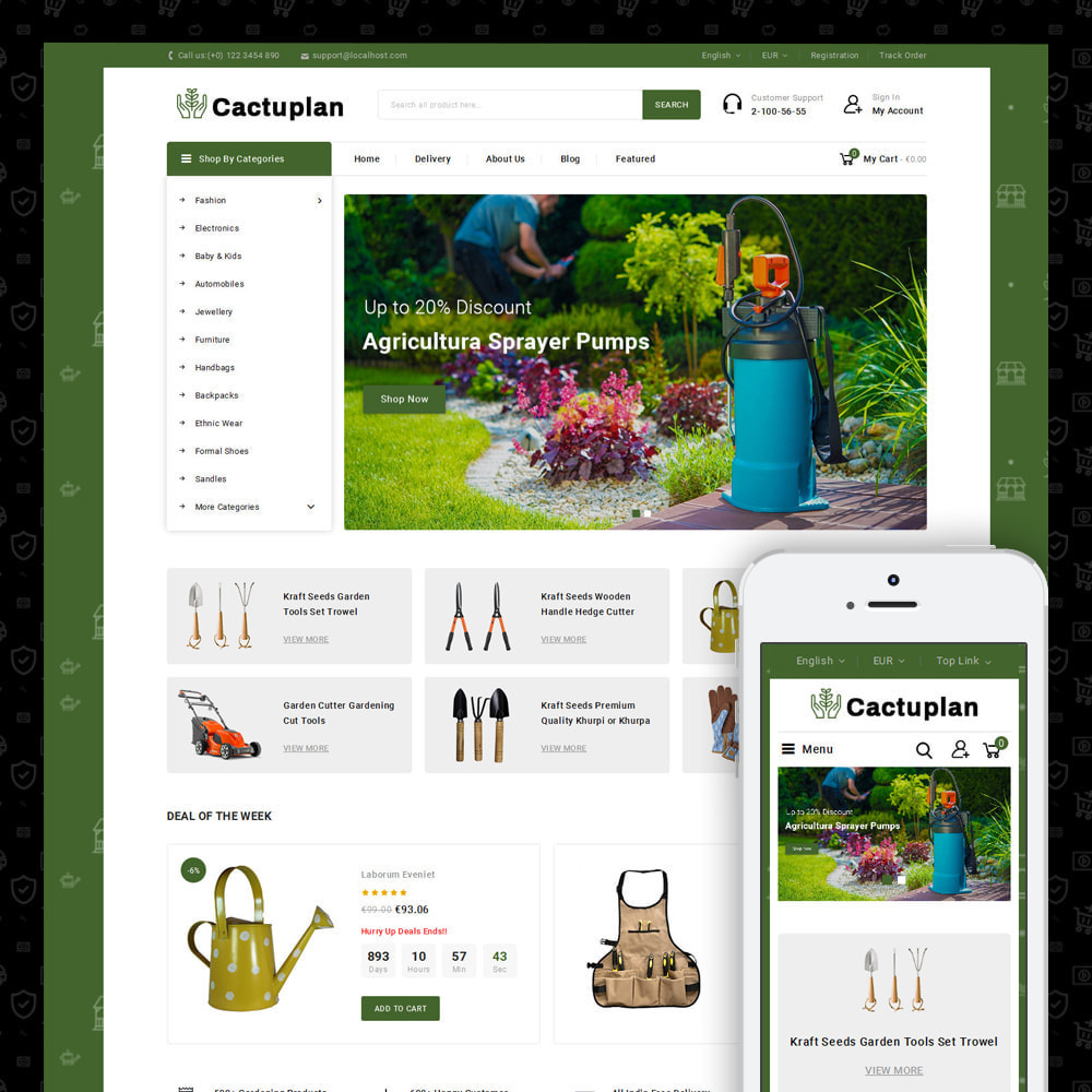 theme - Home & Garden - Cactuplan - Multipurpose Store - 3