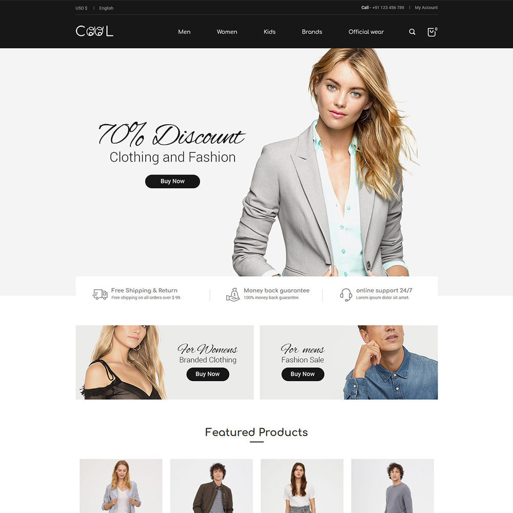 theme - Moda & Calçados - Cool - Fashion Store - 1