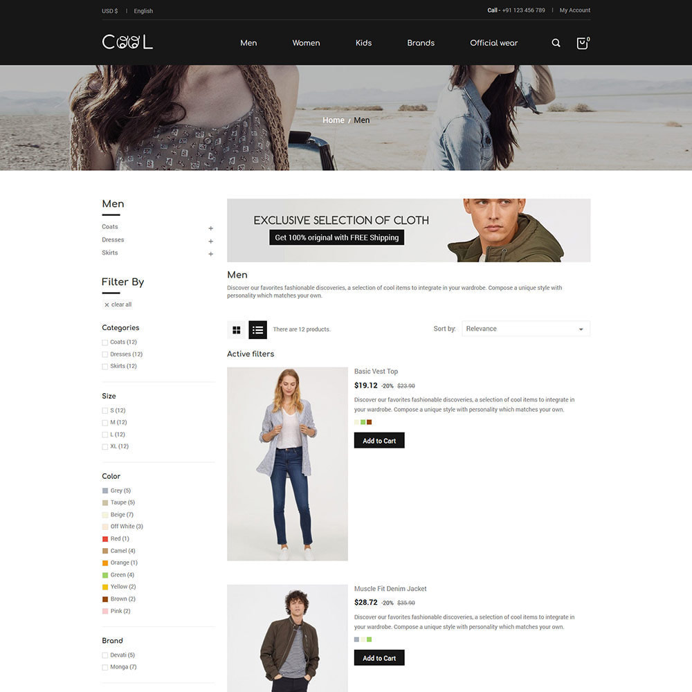 theme - Moda & Calçados - Cool - Fashion Store - 3