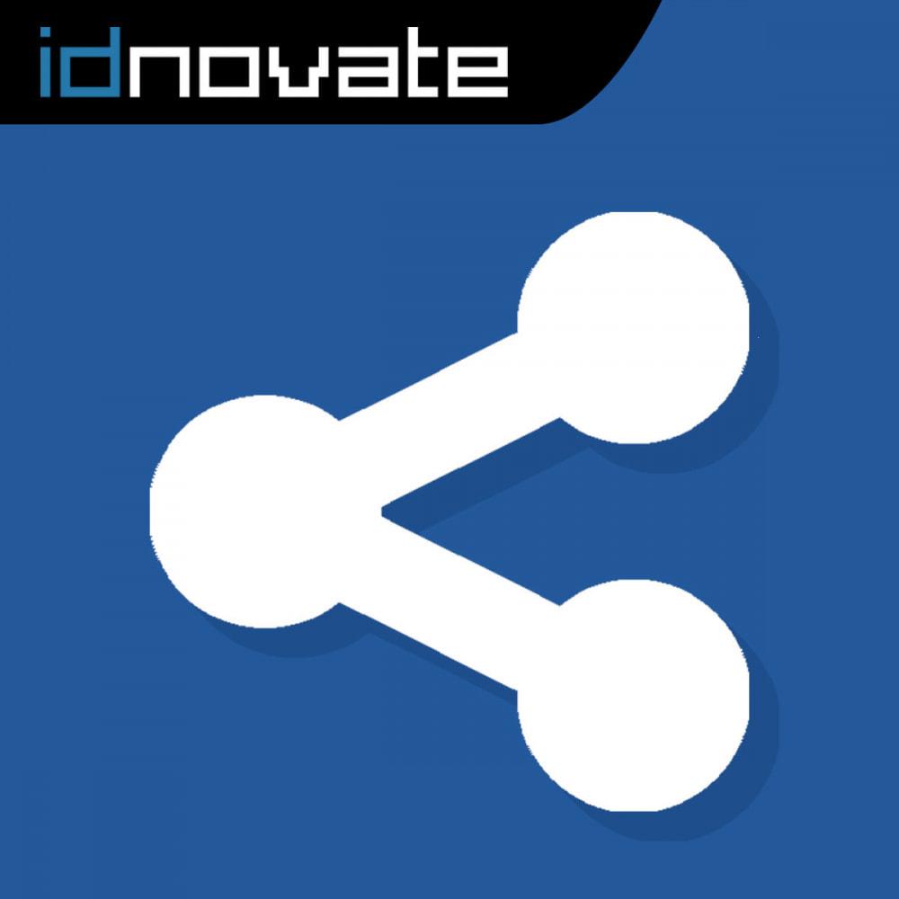 module - Prodotti sui Facebook & Social Network - Condividi sui Social Network dal Backoffice - 1