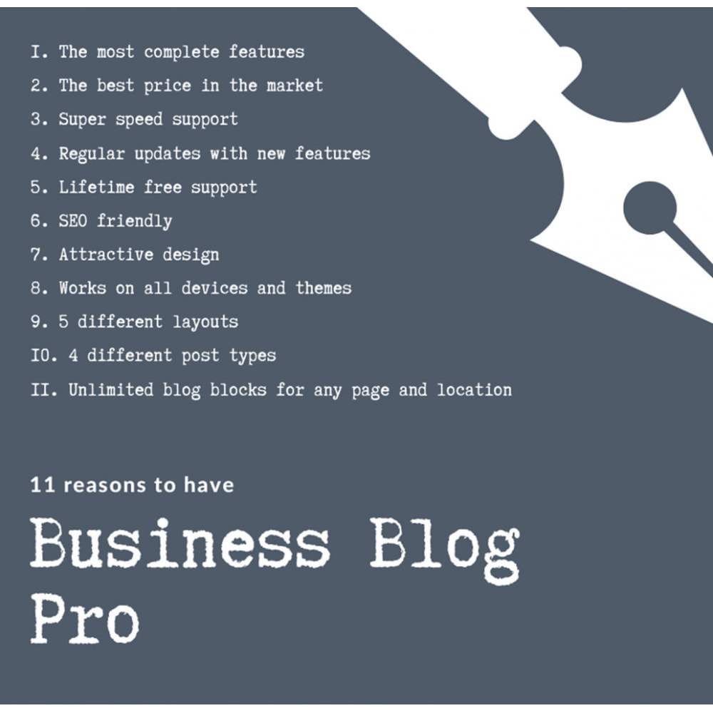 module - Blog, Forum & News - Business Blog Pro - 13