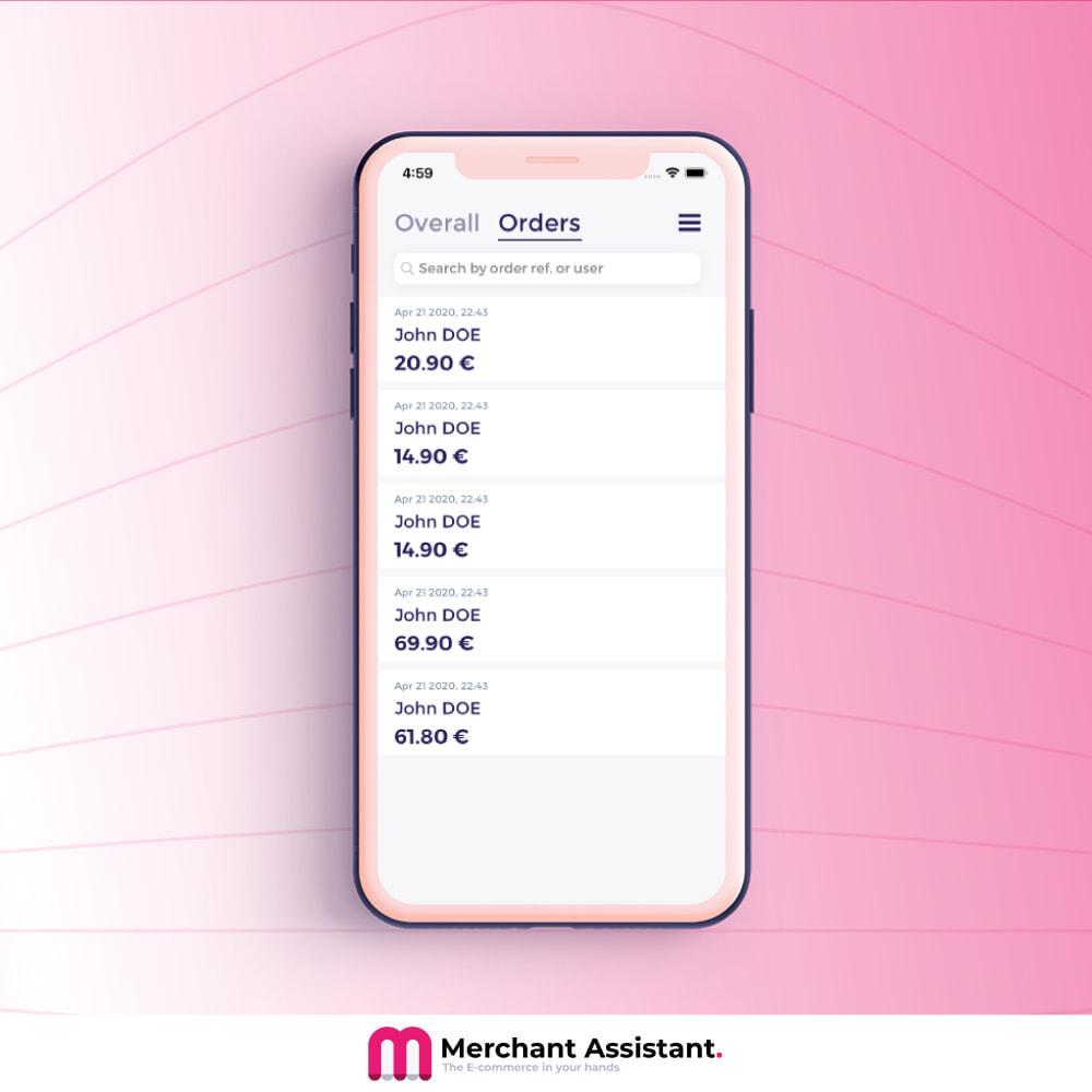 module - Dispositivi mobili - Merchant Assistant - 2