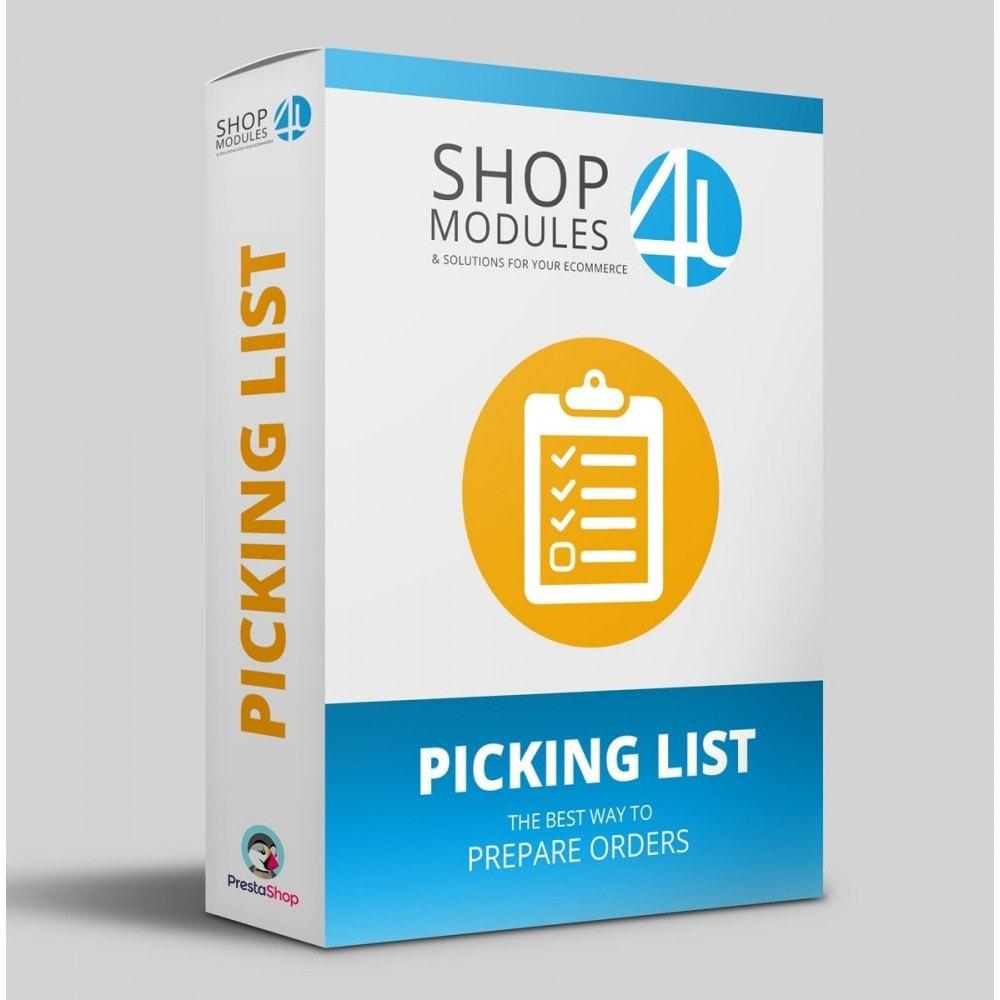 module - Preparación y Envíos - Listado de pedidos pendientes a preparar (Picking list) - 1