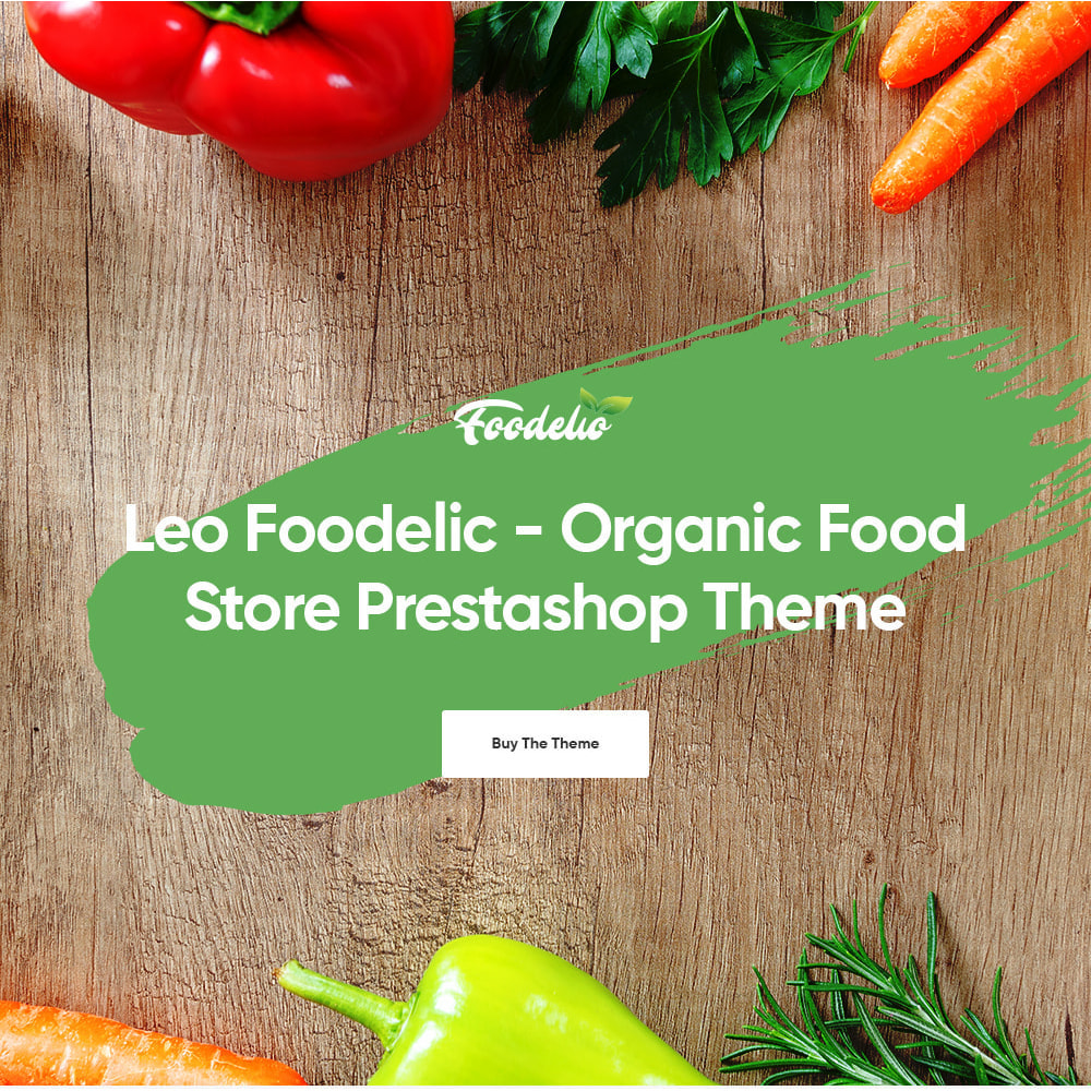 theme - Продовольствие и рестораны - Leo Foodelic - Organic Food Store - 1