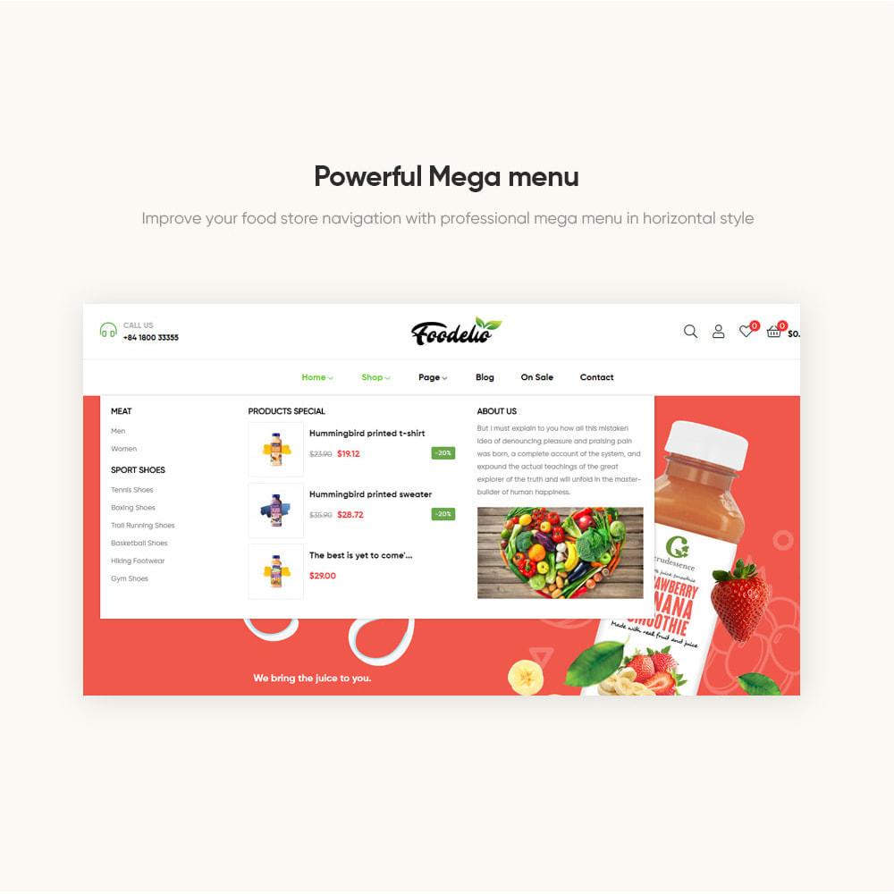 theme - Продовольствие и рестораны - Leo Foodelic - Organic Food Store - 6
