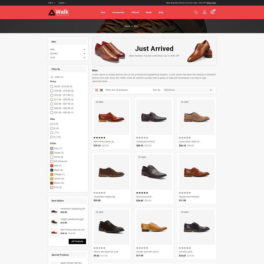 theme - Fashion & Shoes - Walk - Shoes Store - 3