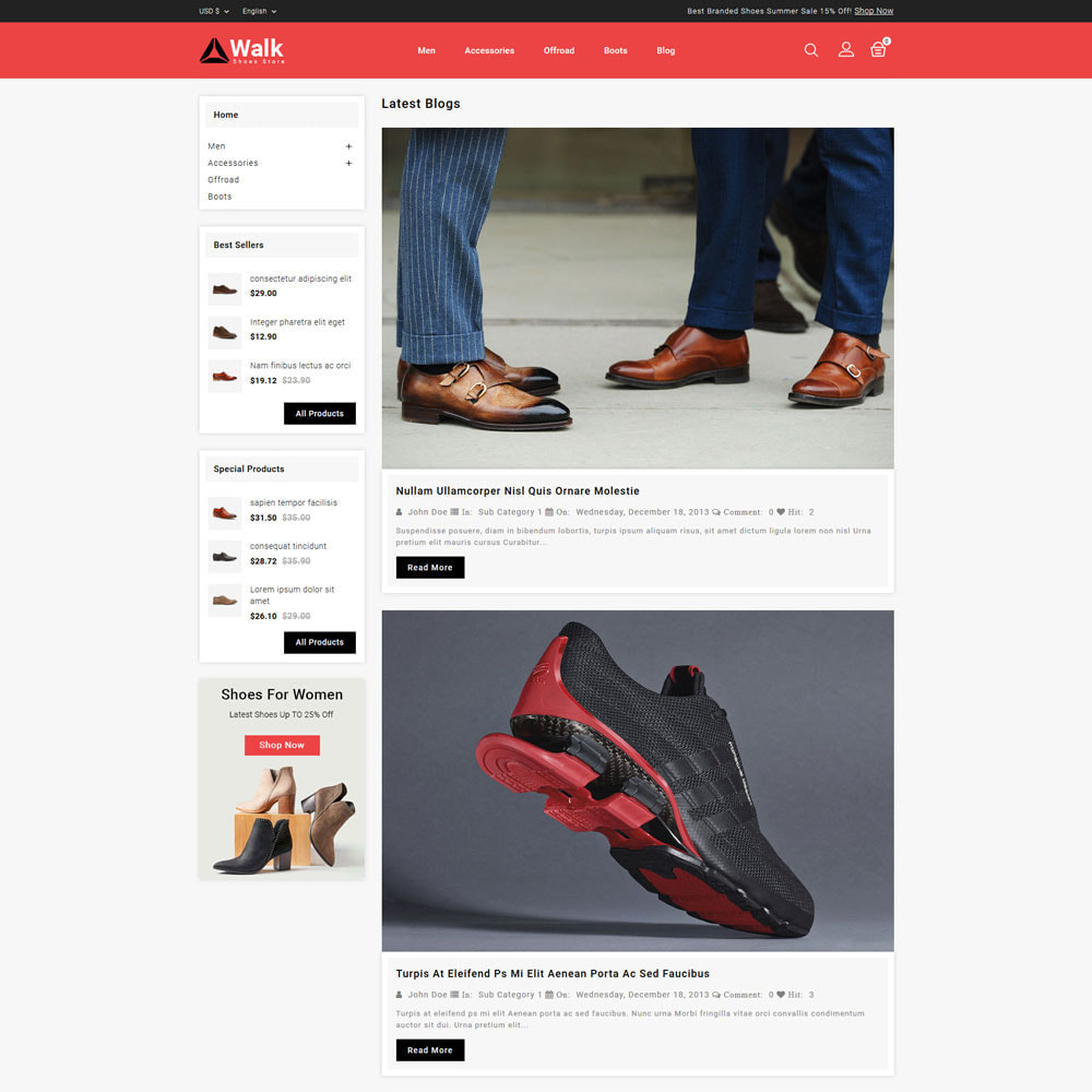 Walk - Shoes Store