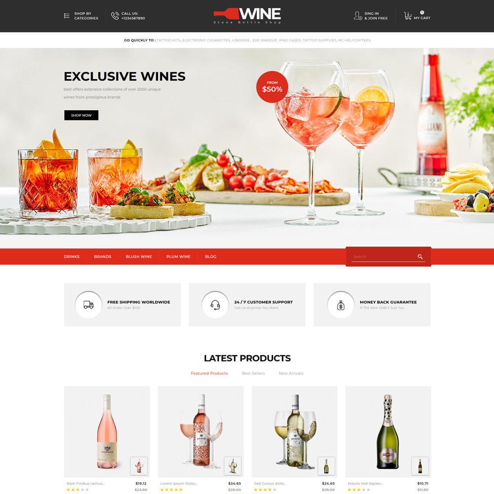 theme - Drink & Tobacco - Winestone - Liquor Shop - 2