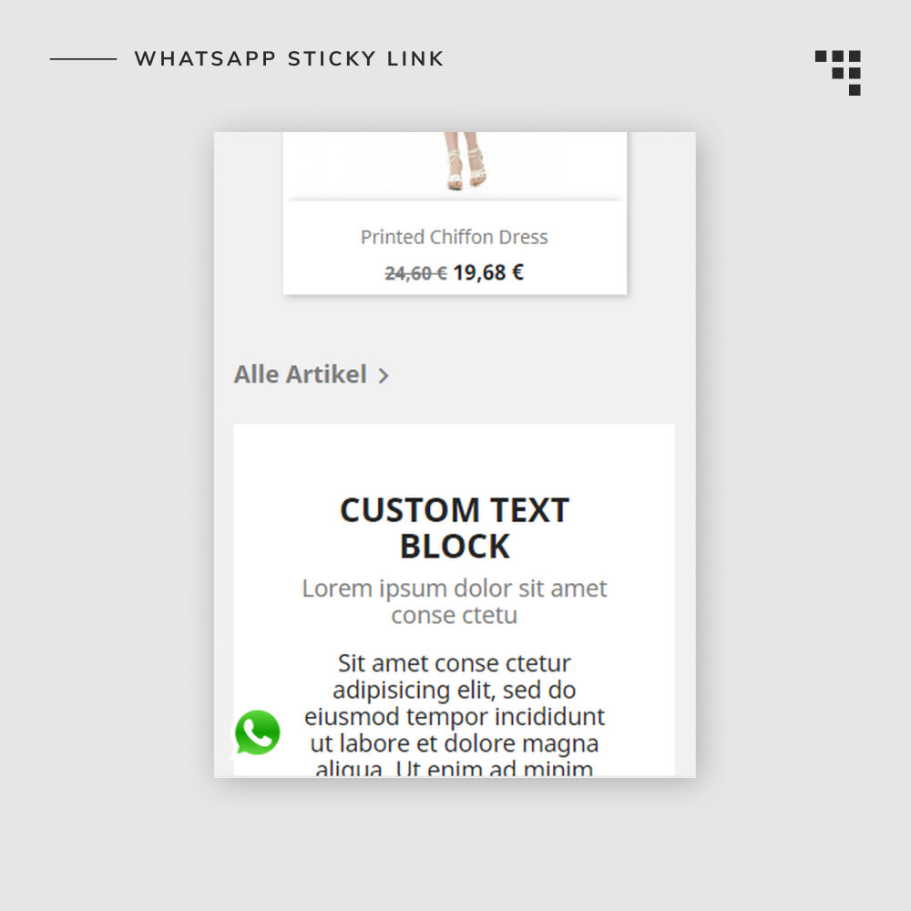 module - Mobile - WhatsApp Sticky Link - 4