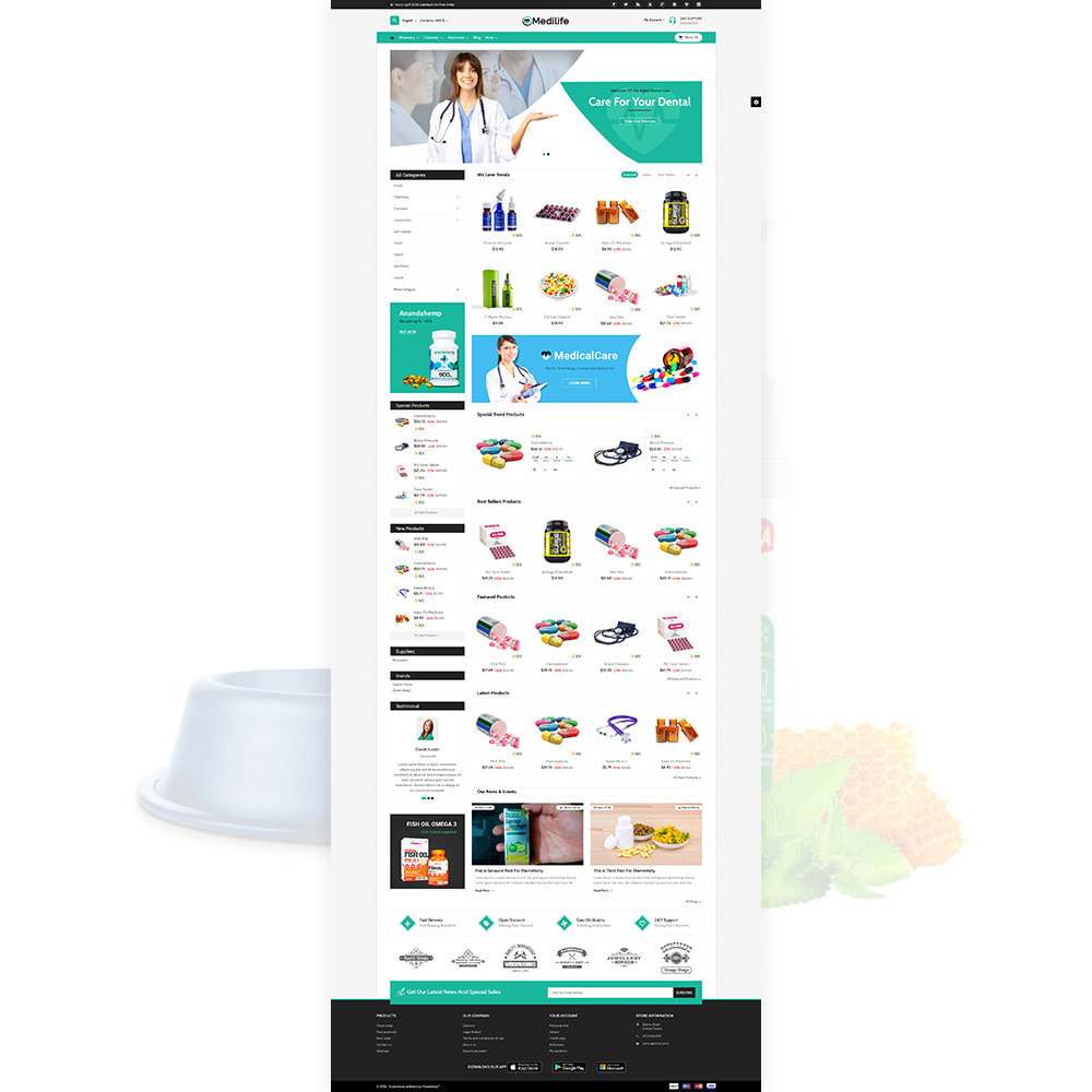 theme - Salud y Belleza - MediLife Medical Drug Store - 2