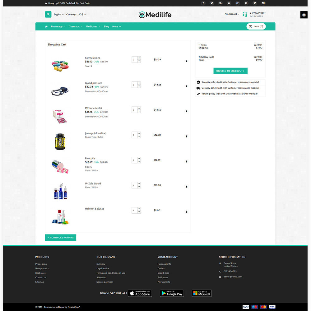 theme - Salud y Belleza - MediLife Medical Drug Store - 4