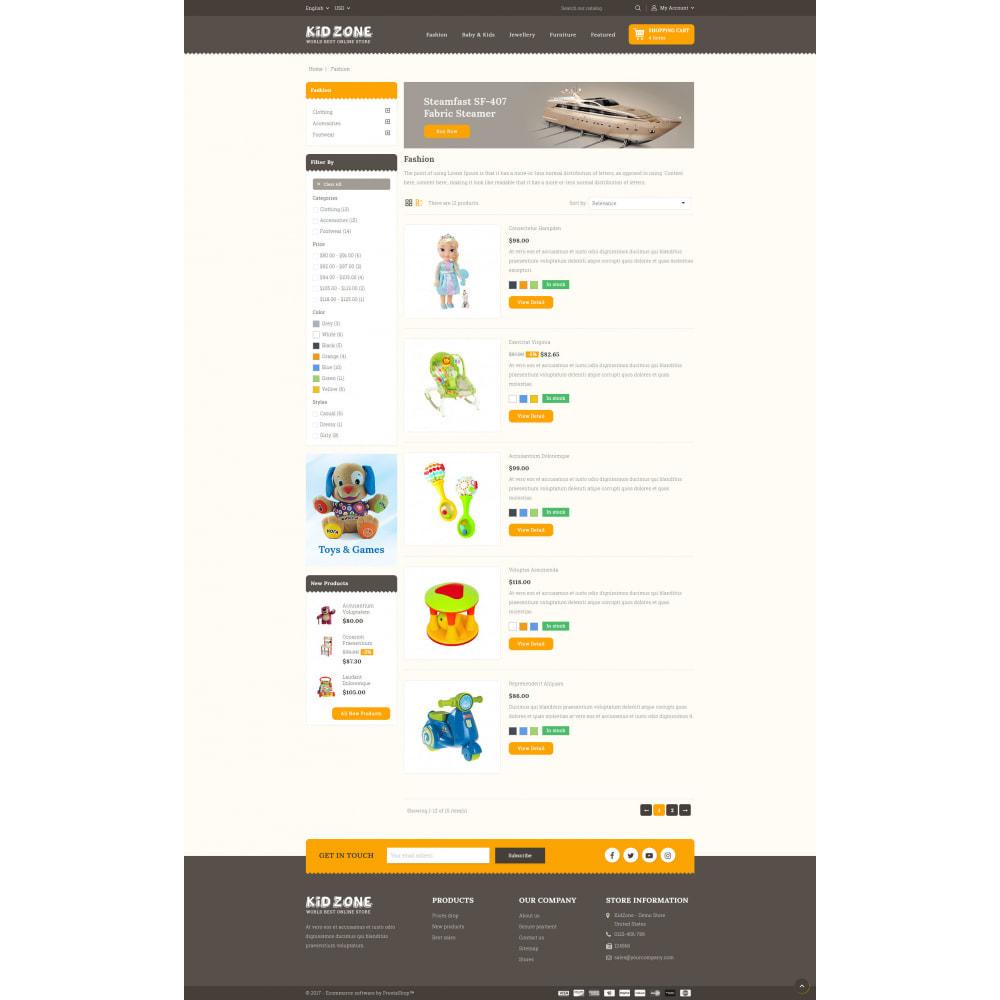 theme - Kids & Toys - Kid Zone Online Store - 4
