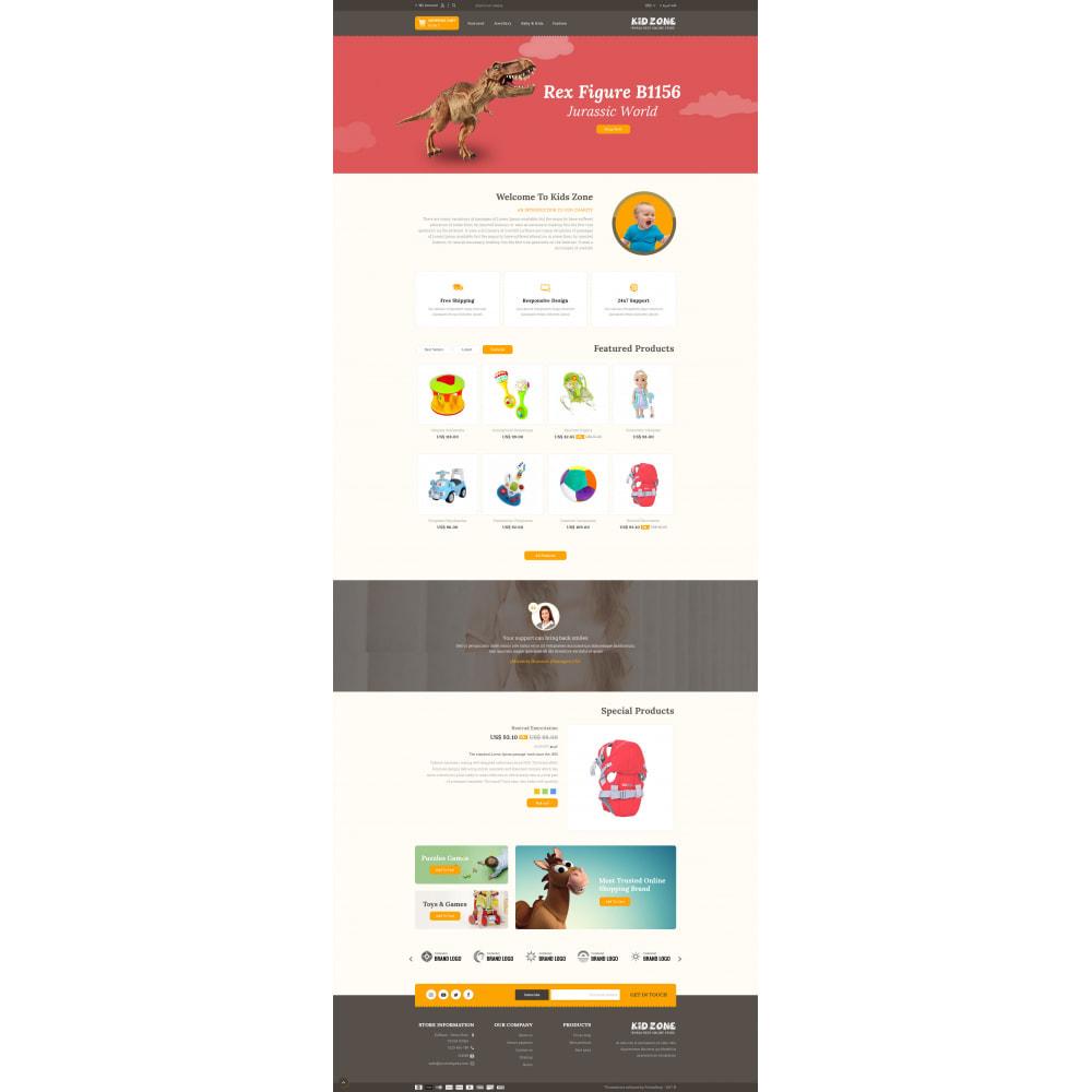 theme - Kids & Toys - Kid Zone Online Store - 9