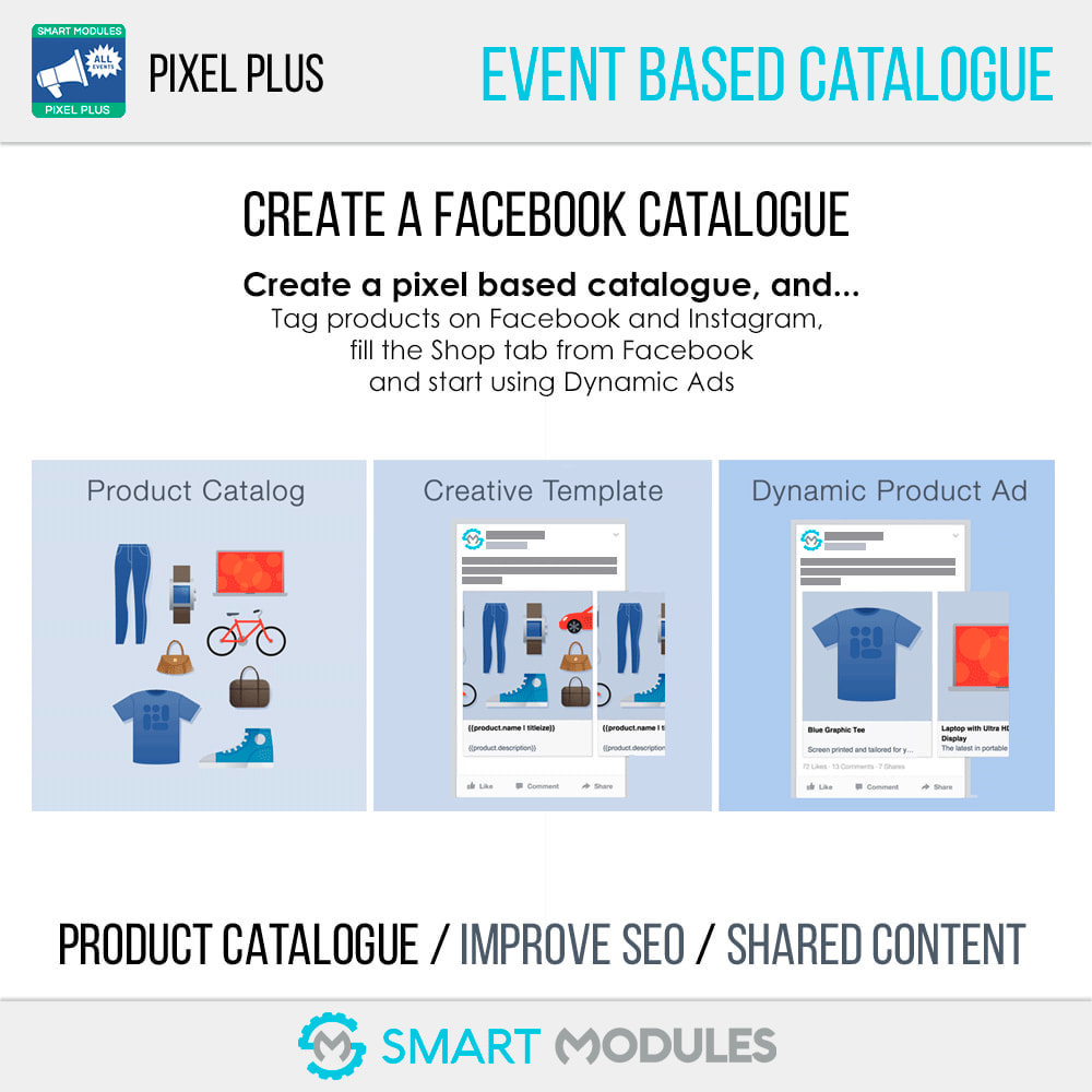module - Analytics & Statistics - Pixel Plus: Event tracking + Pixel Catalogue - 7