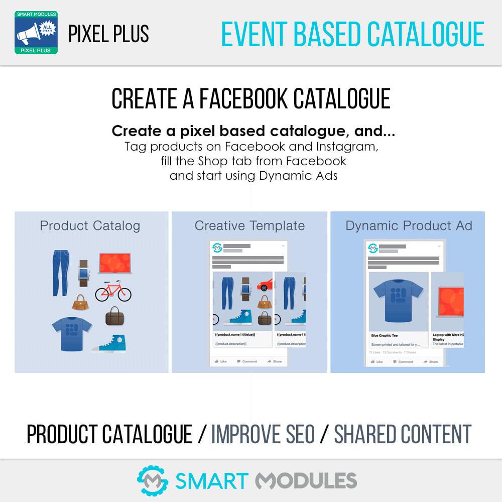 module - Analytics & Statistics - Pixel Plus: Events + Conversions API + Pixel Catalogue - 10