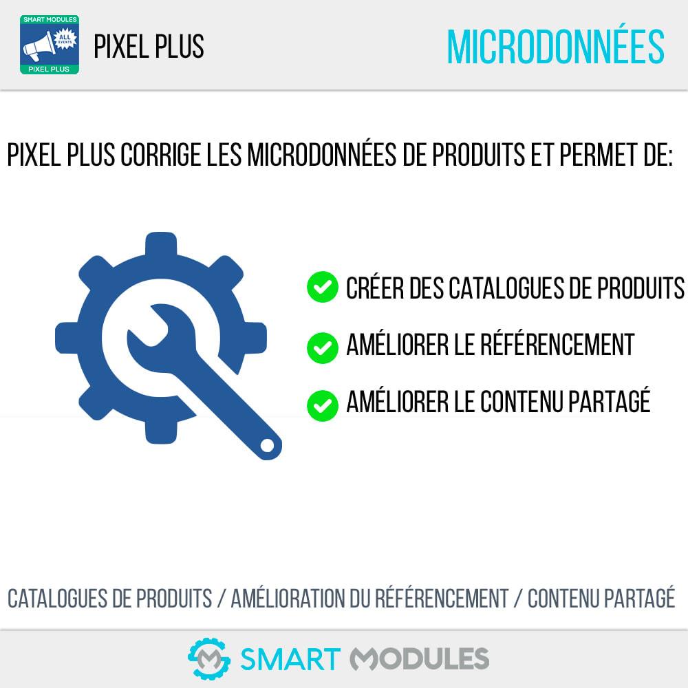module - Analyses & Statistiques - Pixel Plus : Événements + API + Catalogue Pixel - 8