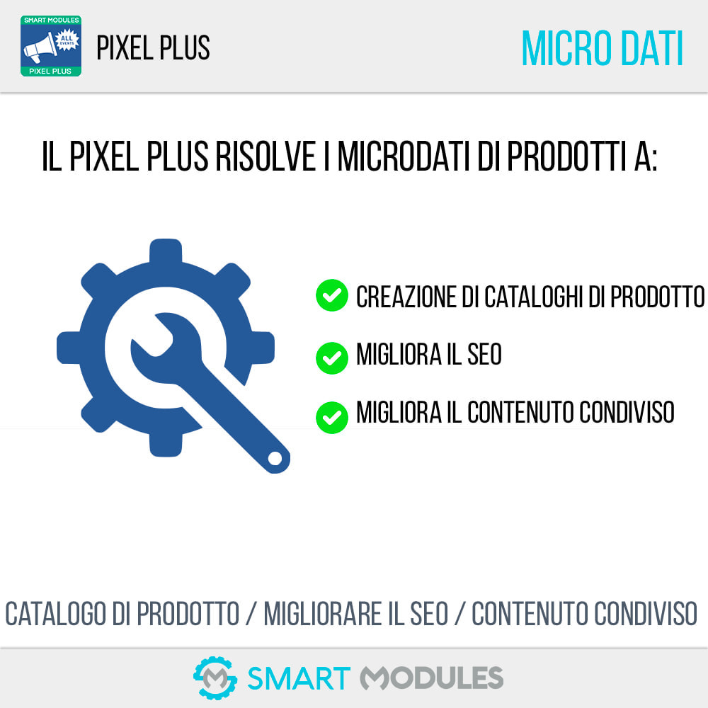 module - Analytics & Statistiche - Pixel Plus: Conversioni ed Eventi + Catalogo Pixel - 5