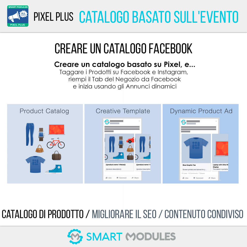 module - Analytics & Statistiche - Pixel Plus: Conversioni ed Eventi + Catalogo Pixel - 7