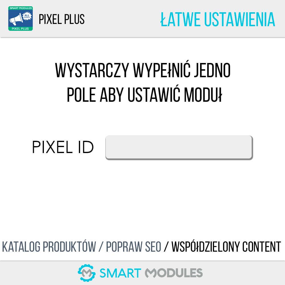 module - Analizy & Statystyki - Pixel Plus: Wszystkie zdarzenia + Pixel Katalog - 3