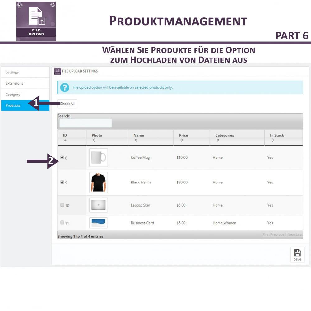 module - Zusatzinformationen & Produkt-Tabs - Datei-Upload durch den Kunden - 13
