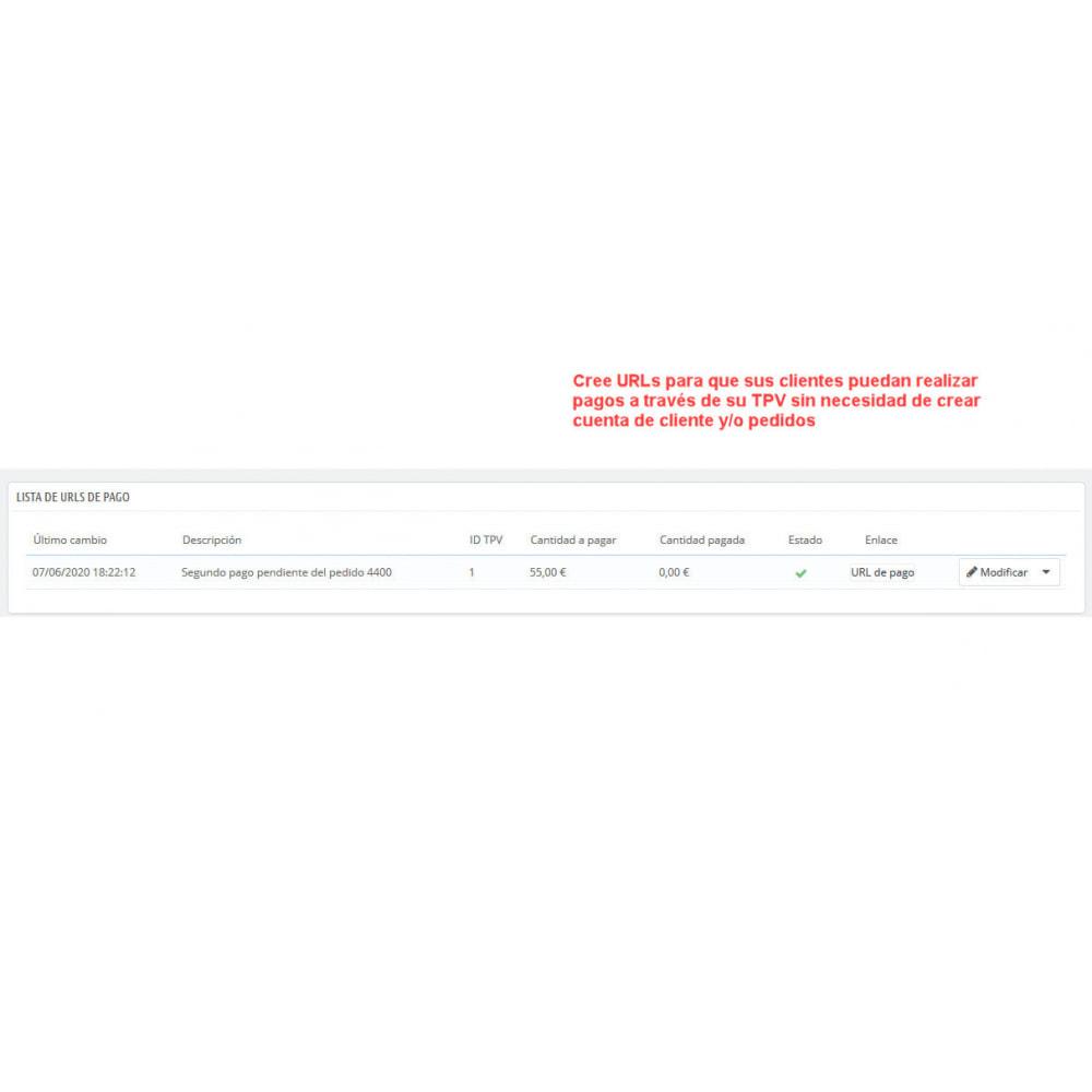 module - Pago con Tarjeta o Carteras digitales - TPV REDSYS (Devoluciones + Bizum + Pago sin pedido) - 7